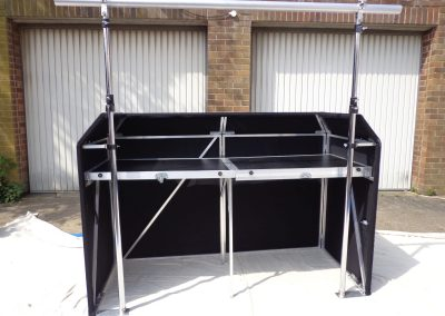 6ft booth rear web